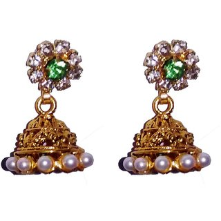 Fashionabe Golden Jhumki for women  girls by shrungarika