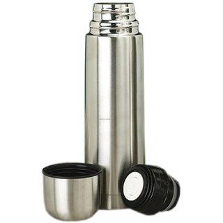Stainless Steel 1000 ml Slim Hot Cold Water bottel
