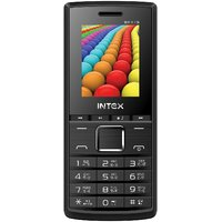 Intex Eco Beat Dual SIM Feature Phone (Black Grey)
