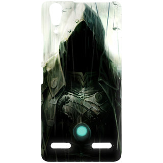 Lenovo A6000 Printed Back Cover (Design May Vary)