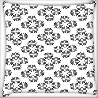 Snoogg Amazed Pattern Digitally Printed Cushion Cover Pillow 20 x 20 Inch