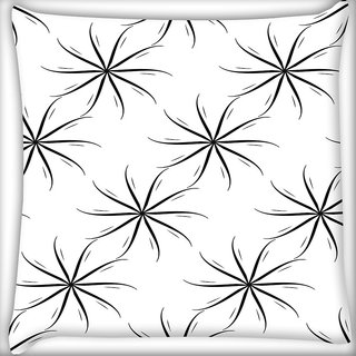 Snoogg Small Windmills Digitally Printed Cushion Cover Pillow 20 x 20 Inch