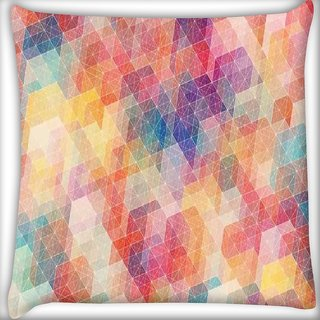 Snoogg cool pattern Digitally Printed Cushion Cover Pillow 16 x 16 Inch