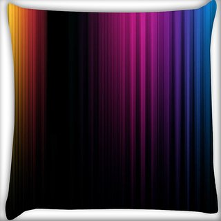 Snoogg Spectrum Of Light Digitally Printed Cushion Cover Pillow 16 x 16 Inch