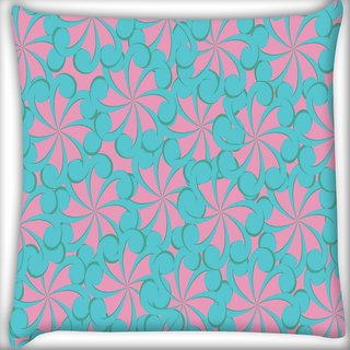 Snoogg Girly Pattern Digitally Printed Cushion Cover Pillow 20 x 20 Inch