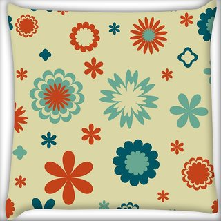Snoogg Abstract Grey Pattern Digitally Printed Cushion Cover Pillow 20 x 20 Inch