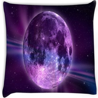 Snoogg  fantasy moon  Digitally Printed Cushion Cover Pillow 16 x 16 Inch
