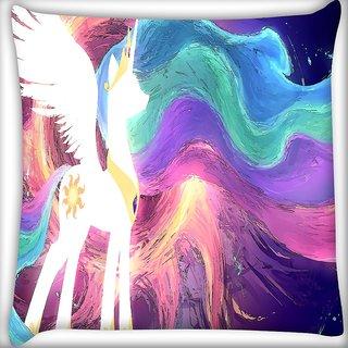 Snoogg Celestia Digitally Printed Cushion Cover Pillow 16 x 16 Inch