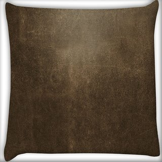 Snoogg Concrete Texture Abstract Digitally Printed Cushion Cover Pillow 16 x 16 Inch