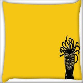 Snoogg Medusa Digitally Printed Cushion Cover Pillow 16 x 16 Inch