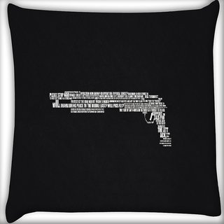 Snoogg Minimalism Digitally Printed Cushion Cover Pillow 16 x 16 Inch