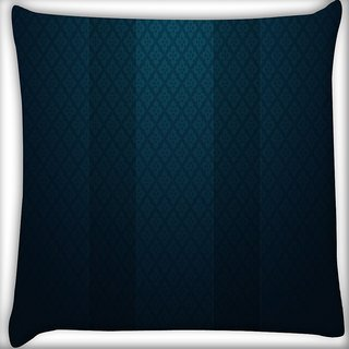 Snoogg Light And Dark Wall Pattern Design Digitally Printed Cushion Cover Pillow 16 x 16 Inch