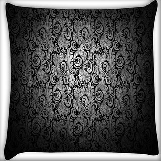 Snoogg Abstract Pattern Design Digitally Printed Cushion Cover Pillow 16 x 16 Inch