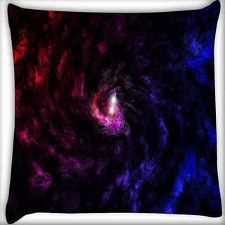Snoogg Deep Abstract Widescreen Digitally Printed Cushion Cover Pillow 16 x 16 Inch