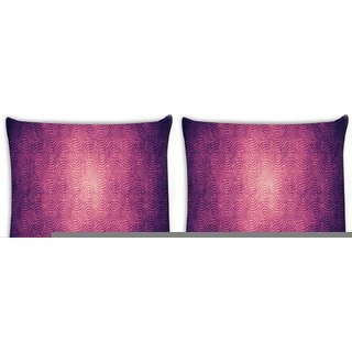Snoogg Pack Of 4 Abstract Design Digitally Printed Cushion Cover Pillow 8 X 8 Inch