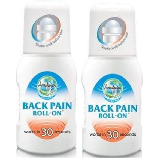 Amirutanjan Back Pain Roll On (pack of 2)