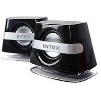 Intex IT-365 Multimedia Speaker (Silver/Black)