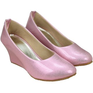 Jayn Martin Light Pink Slip On Bellies