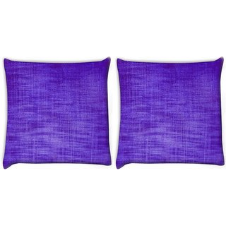 Snoogg Pack Of 2 Abstract Colorful Texturesre Digitally Printed Cushion Cover Pillow 10 x 10 Inch