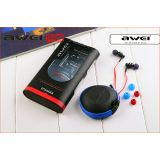 Original AWEI ES500i Stereo Headphones Headset With Mic For IPhone/Samsung/Nokia/HTC/Sony