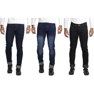 Combo of 3 Vrgin Slim Fit Streachable Jeans