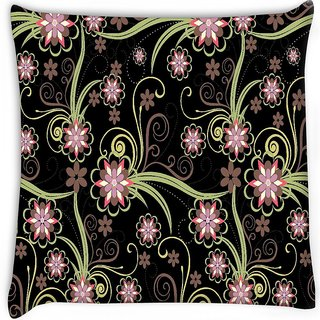Snoogg  abstract pattern background Digitally Printed Cushion Cover Pillow 12 x 12 Inch