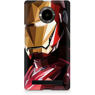 CopyCatz Iron Man Abstract Premium Printed Case For Micromax YU Yuphoria