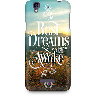 CopyCatz The Best Dreams Premium Printed Case For Micromax YU Yureka A05510