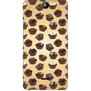 CopyCatz Chocolate Cupcake Premium Printed Case For Micromax Canvas Juice 3 Q392
