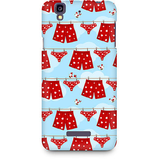 CopyCatz Boxers And Panties Premium Printed Case For Micromax YU Yureka A05510