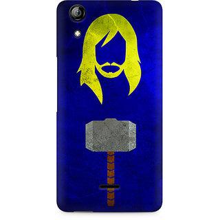 CopyCatz Thor Minimalist Premium Printed Case For Micromax Canvas Selfie 2 Q340