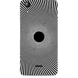 CopyCatz Black Hole Illusion Premium Printed Case For Micromax Canvas Selfie 2 Q340
