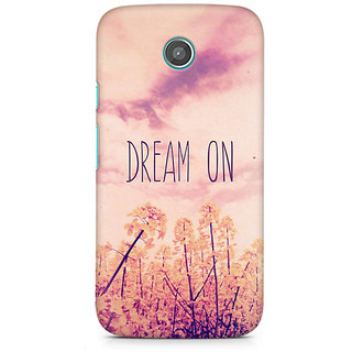 CopyCatz Dream On Premium Printed Case For Moto E