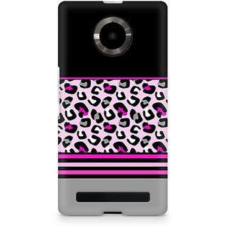 CopyCatz Pink Cheetah Fusion Premium Printed Case For Micromax YU Yuphoria