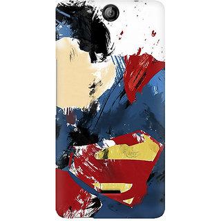 CopyCatz Superman Abstract Premium Printed Case For Micromax Canvas Juice 3 Q392
