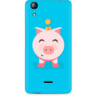 CopyCatz Pig Money Premium Printed Case For Micromax Canvas Selfie 2 Q340