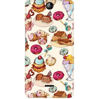 CopyCatz Ice Cream Love Premium Printed Case For Micromax Canvas Juice 3 Q392