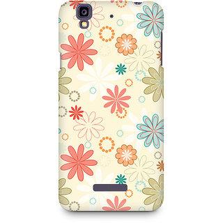 CopyCatz Floral Romance Premium Printed Case For Micromax YU Yureka A05510