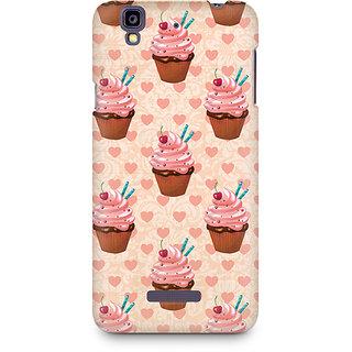 CopyCatz Stawberry Cupcakes Premium Printed Case For Micromax YU Yureka A05510