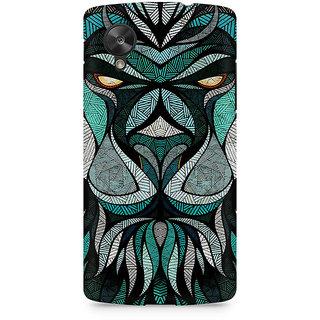 CopyCatz Lion Mighty Premium Printed Case For LG Nexus 5