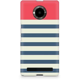 CopyCatz Stripes Pink Premium Printed Case For Micromax YU Yuphoria