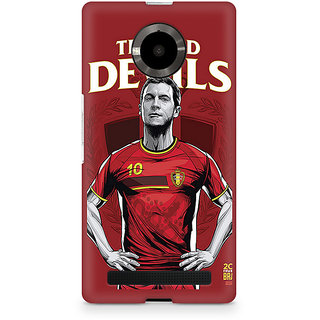 CopyCatz The Red Devils Premium Printed Case For Micromax YU Yuphoria