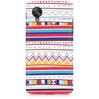 CopyCatz Tribal Pastels Premium Printed Case For LG Nexus 5