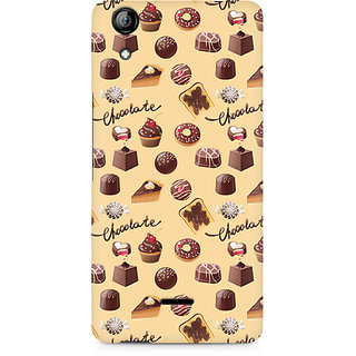 CopyCatz Chocolate Overflow Premium Printed Case For Micromax Canvas Selfie 2 Q340