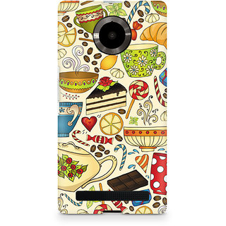 CopyCatz Abstract Tea Party Premium Printed Case For Micromax YU Yuphoria
