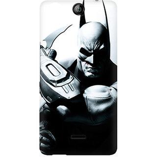 CopyCatz Batman Arkham City Premium Printed Case For Micromax Canvas Juice 3 Q392