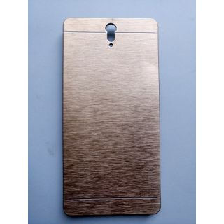 Sony C5 aluminium material golden back cover