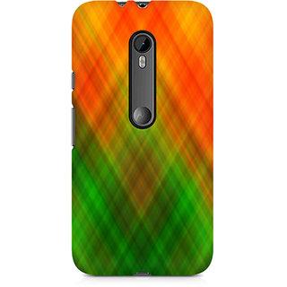 CopyCatz Abstract Rainbow Fusion Premium Printed Case For Moto G3