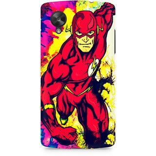 CopyCatz Flash Premium Printed Case For LG Nexus 5