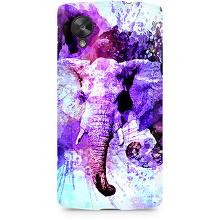 CopyCatz Watercolor Elephant Premium Printed Case For LG Nexus 5